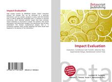 Bookcover of Impact Evaluation