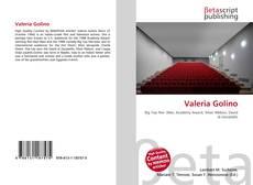 Buchcover von Valeria Golino