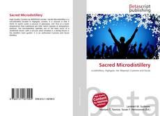 Sacred Microdistillery kitap kapağı