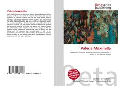 Copertina di Valeria Maximilla