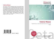 Bookcover of Valeria Mazza