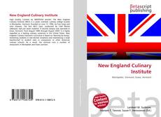 New England Culinary Institute kitap kapağı