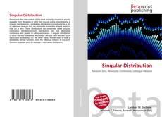 Bookcover of Singular Distribution