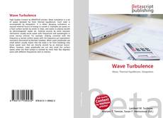 Bookcover of Wave Turbulence