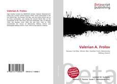 Bookcover of Valerian A. Frolov