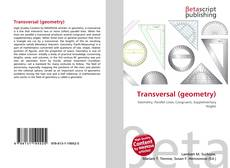 Bookcover of Transversal (geometry)