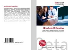 Bookcover of Structured Interview
