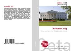 VoteVets. org的封面