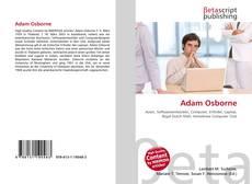 Buchcover von Adam Osborne