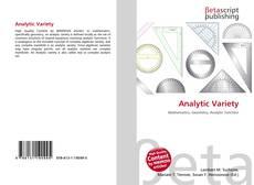 Analytic Variety的封面