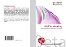 Portada del libro de Wildfire Modeling