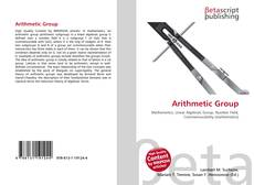 Bookcover of Arithmetic Group