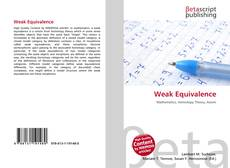 Bookcover of Weak Equivalence