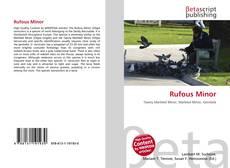 Bookcover of Rufous Minor
