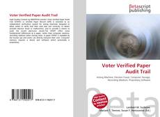 Buchcover von Voter Verified Paper Audit Trail