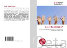 Обложка Voter Suppression