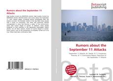 Bookcover of Rumors about the September 11 Attacks