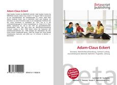 Обложка Adam-Claus Eckert