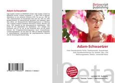 Borítókép a  Adam-Schwaetzer - hoz