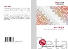Bookcover of Uma Singh