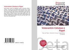 Portada del libro de Votorantim Celulose e Papel