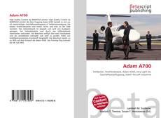 Buchcover von Adam A700