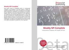 Bookcover of Weakly NP-Complete