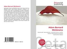 Обложка Adam Bernard Mickiewicz