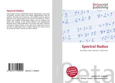 Bookcover of Spectral Radius