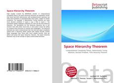 Bookcover of Space Hierarchy Theorem