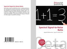 Bookcover of Spectral Signal-to-Noise Ratio