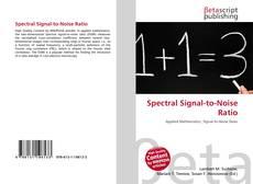 Capa do livro de Spectral Signal-to-Noise Ratio