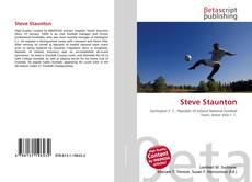Capa do livro de Steve Staunton