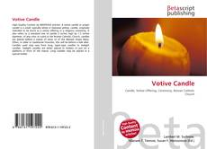Bookcover of Votive Candle