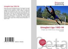 Portada del libro de Umaglesi Liga 1993–94