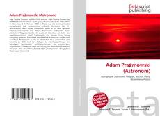 Adam Prażmowski (Astronom)的封面