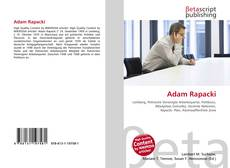 Bookcover of Adam Rapacki