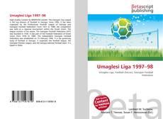 Portada del libro de Umaglesi Liga 1997–98