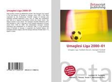 Capa do livro de Umaglesi Liga 2000–01