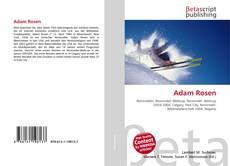 Bookcover of Adam Rosen