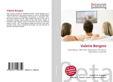 Bookcover of Valerie Bergere