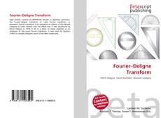 Bookcover of Fourier–Deligne Transform