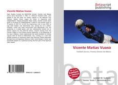 Capa do livro de Vicente Matías Vuoso