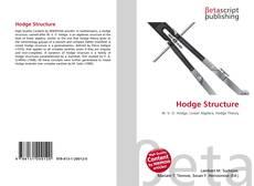 Capa do livro de Hodge Structure