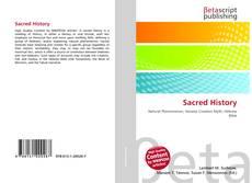 Couverture de Sacred History