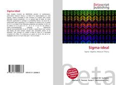 Copertina di Sigma-ideal