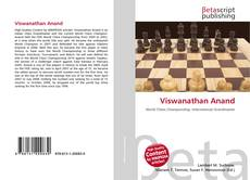 Bookcover of Viswanathan Anand