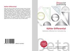 Bookcover of Kähler Differential