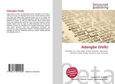 Bookcover of Adangbe (Volk)