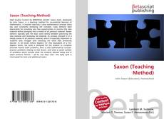 Bookcover of Saxon (Teaching Method)
